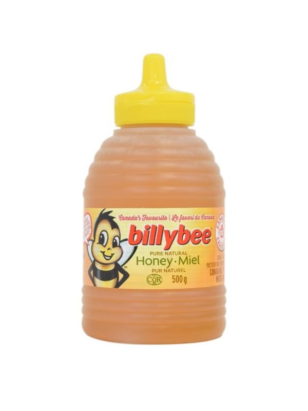Billy bee pure natural honey, 500g 1