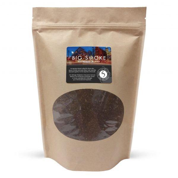 Big smoke espresso ground coffee, 800g 1