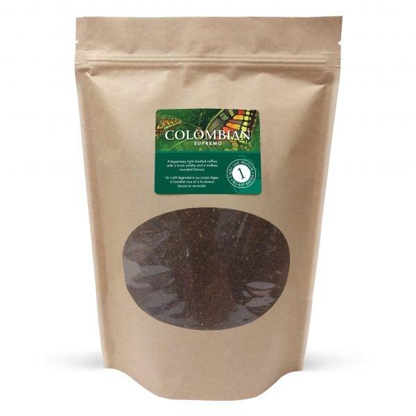 Colombian supremo ground coffee, 1lb 1