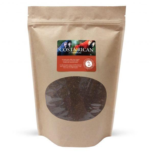 Costa rican tarrazu ground coffee, 1lb 1