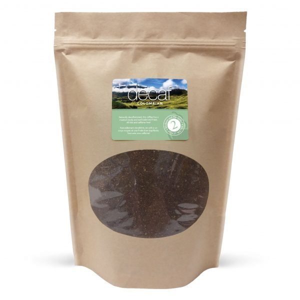 Decaf colombian ground coffee, 1lb 1