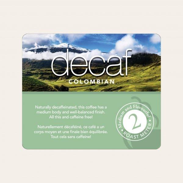 Decaf colombian bulk singles 3