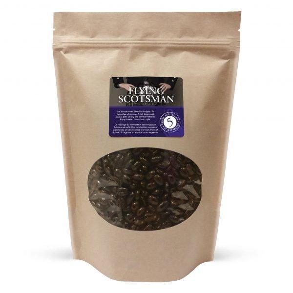 Flying scotsman whole bean coffee, 1lb 1