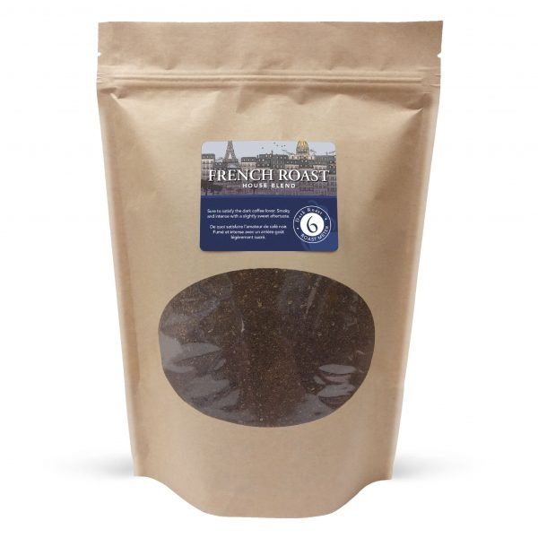 French roast ground coffee, 1lb 1