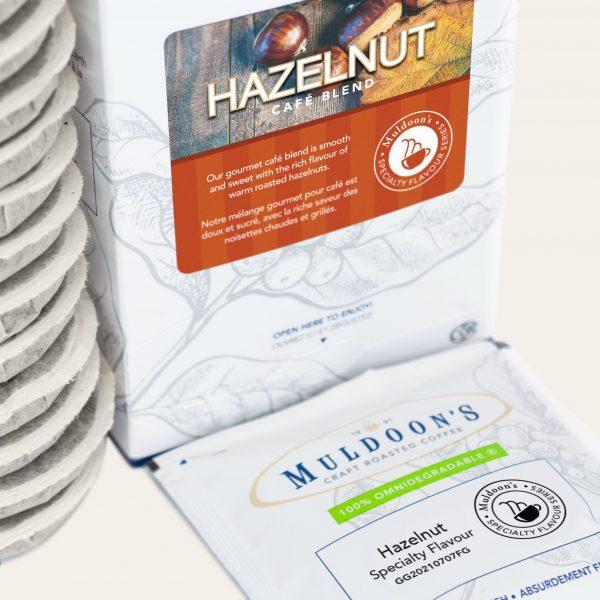 Hazelnut café blend singles 4