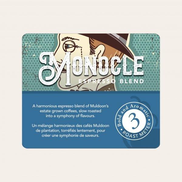 Monocle espresso ground coffee, 800g 2