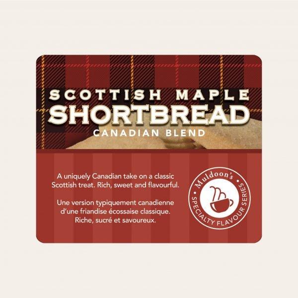 Scottish maple shortbread bulk singles 3