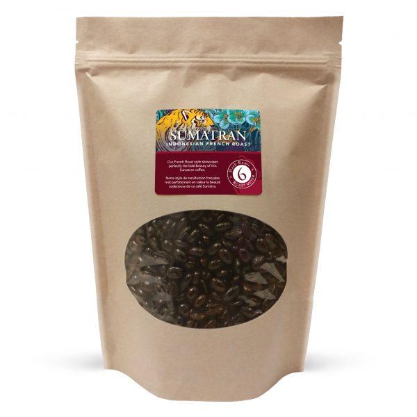 Sumatran whole bean coffee, 1lb 1