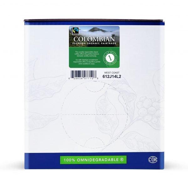 Colombian fairtrade bulk singles 1
